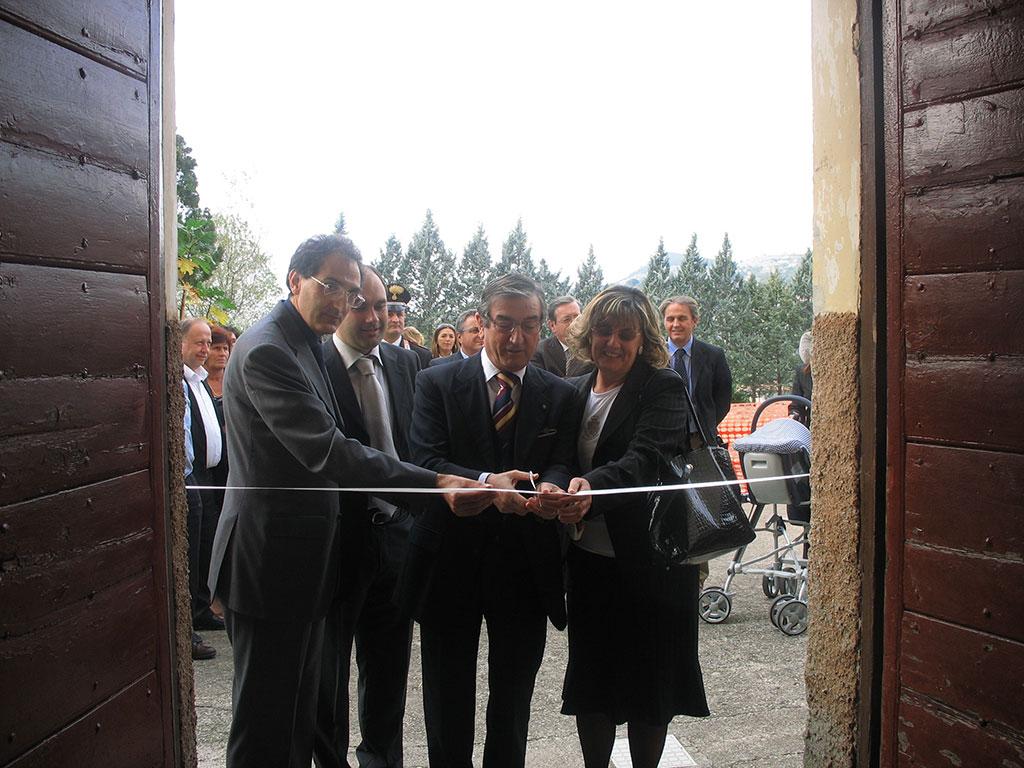"""Veroli – Inaugurata """"Casarmonia"""", la casa famiglia per minori – Sabato 25 ottobre 2008"""